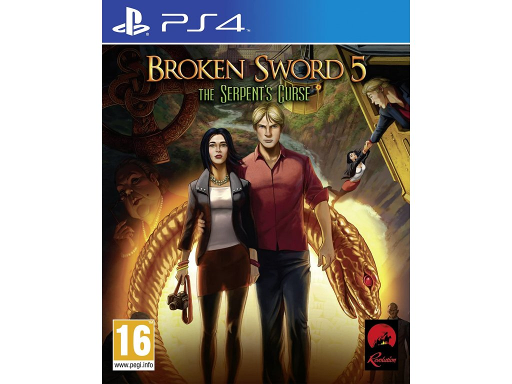 Broken Sword 5 The Serpent's Curse PS4