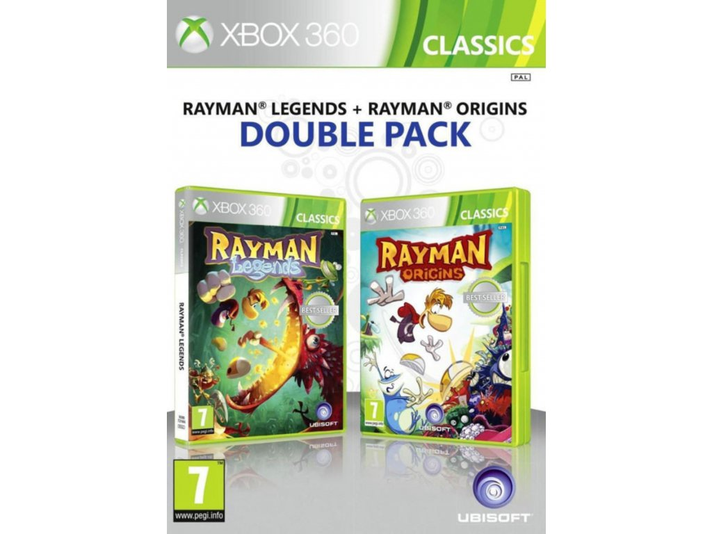 Rayman double pack xbox 360