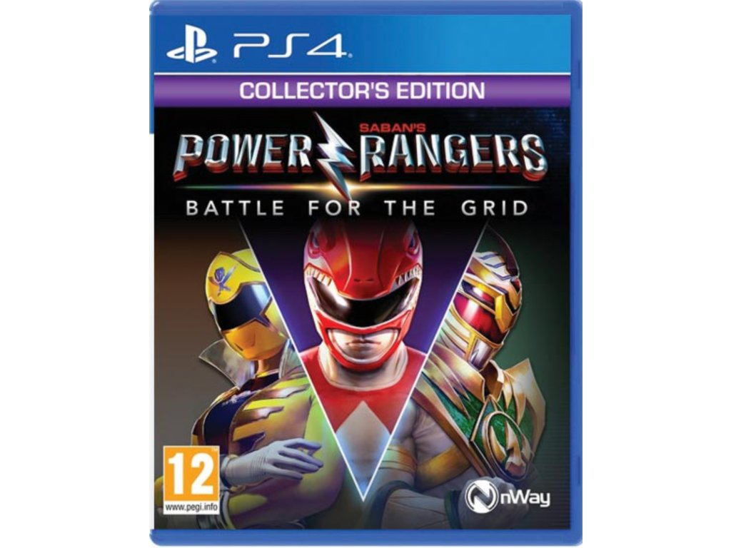 Power Rangers Battle For The Grid Collector's Edition PS4