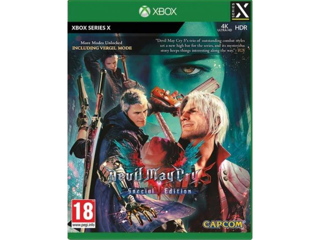 Xbox Series x devil may cry