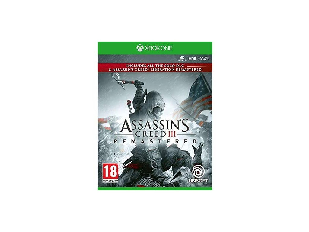 XBOX ONE Assassin's Creed 3 + Assassin's Creed Liberation