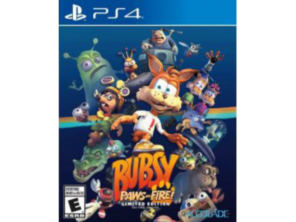 Bubsy Paws on Fire! Limited Edition