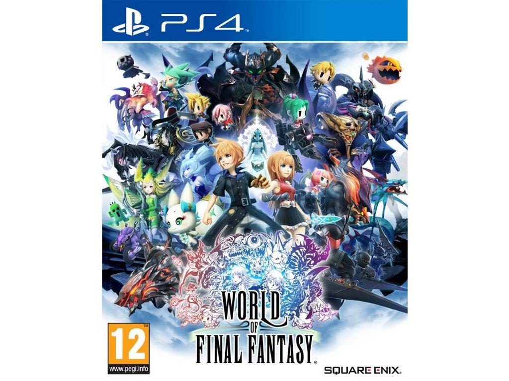 PS4 World of Final Fantasy
