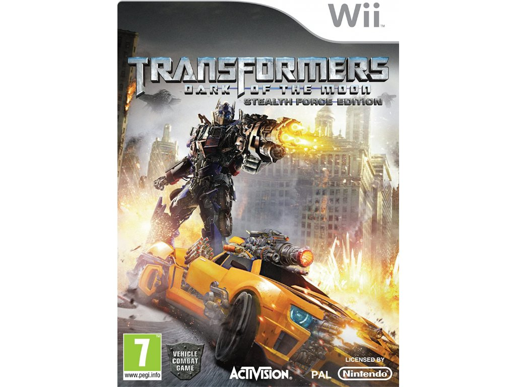 wii transformers dark of the moon stealth force edition