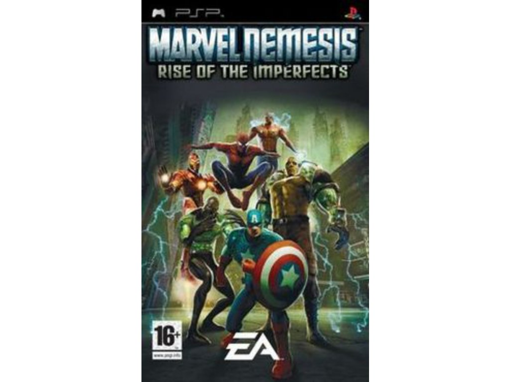 PSP Marvel Nemesis Rise of the Imperfects