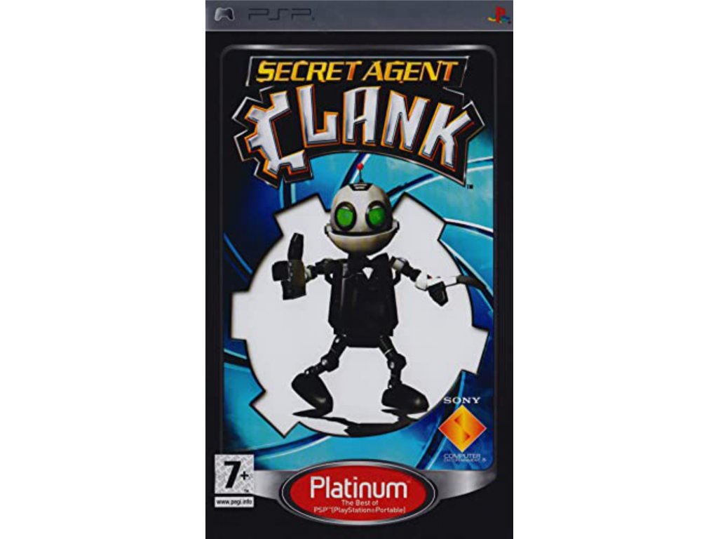 PSP secret agent clank platinum