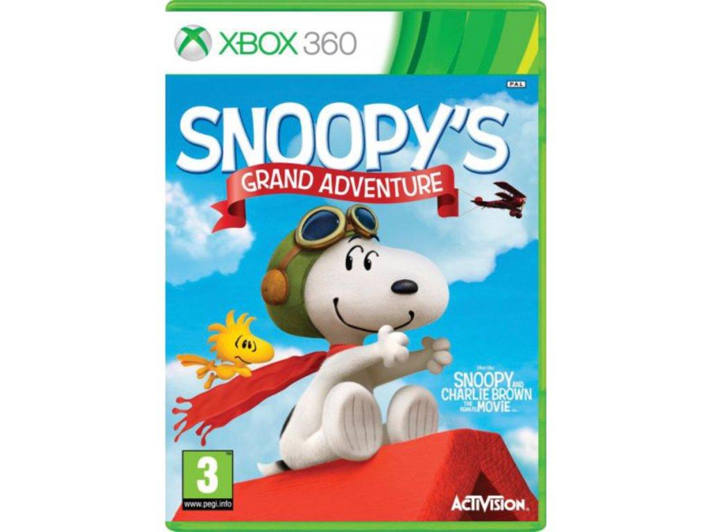XBOX 360 The Peanuts Movie Snoopy's Grand Adventure