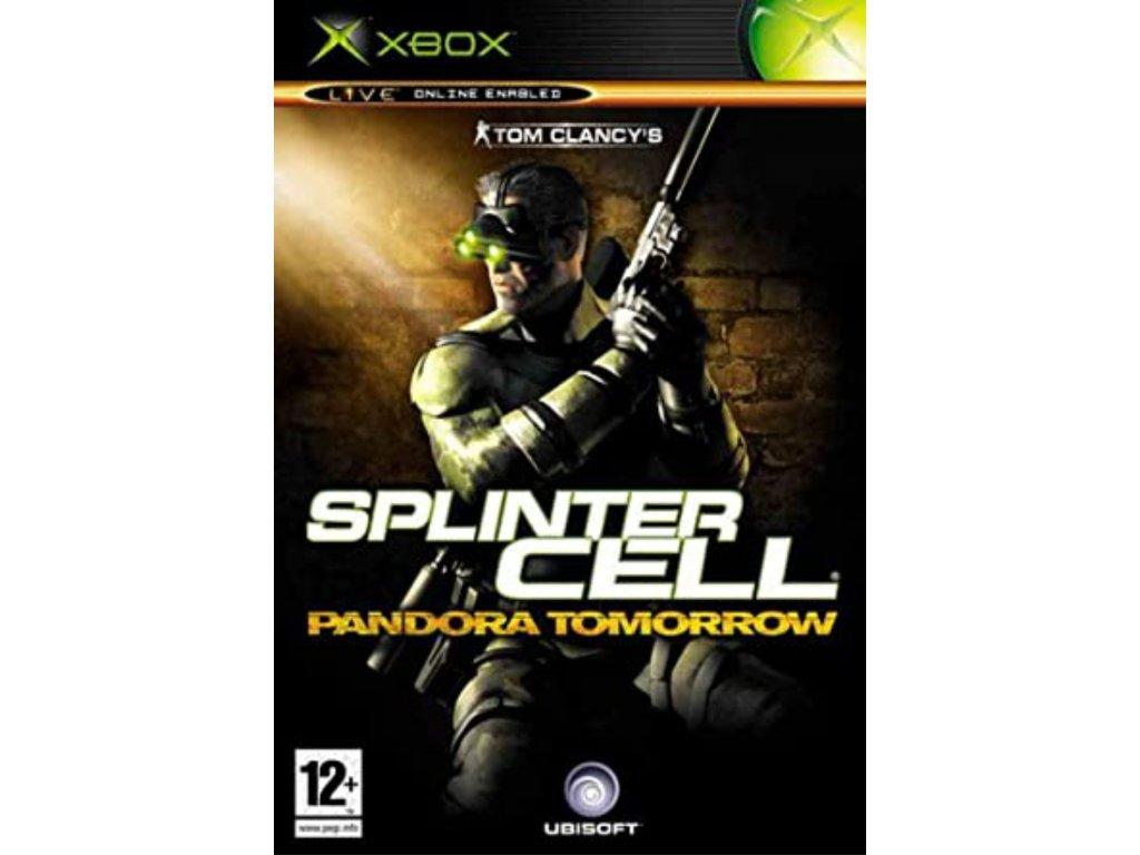 XBOX Splinter Cell Pandora Tomorrow