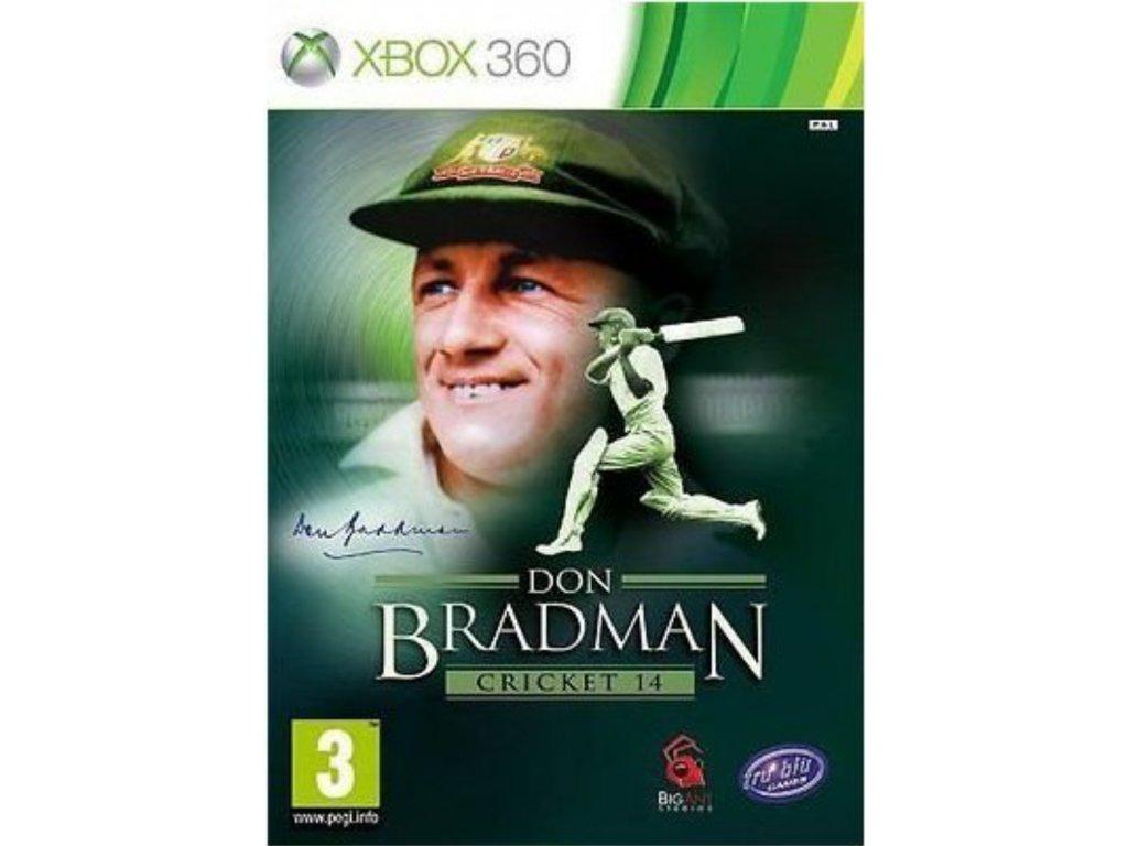 XBOX 360 Don Bradman Cricket