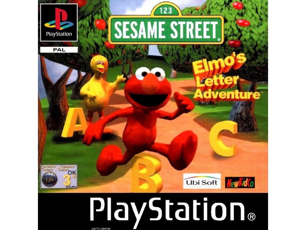 ps1 sesame street elmo's letter adventure