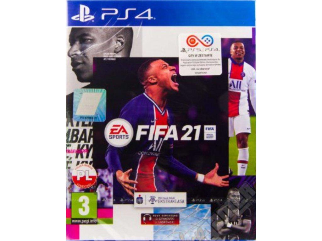 PS4 FIFA 21 CZ