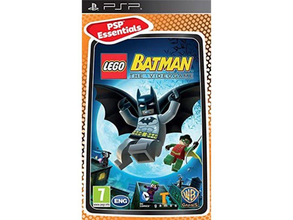LEGO Batman The Video Game Essentials (PSP)