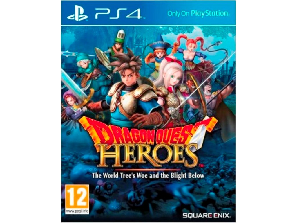PS4 Dragon Quest Heroes The World Trees Woe and the Blight Below