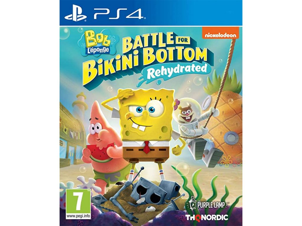 Spongebob SquarePants Battle for Bikini Bottom Rehydrated PS4