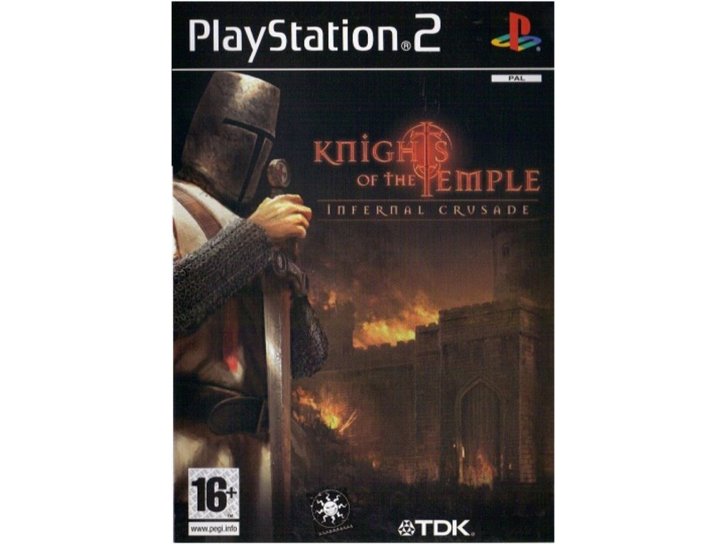 PS2 Knights of the Temple: Infernal Crusade