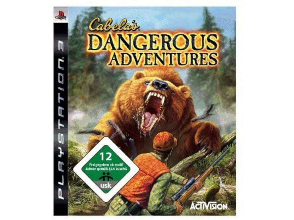 Cabelas Dangerous Adventures (PS3)