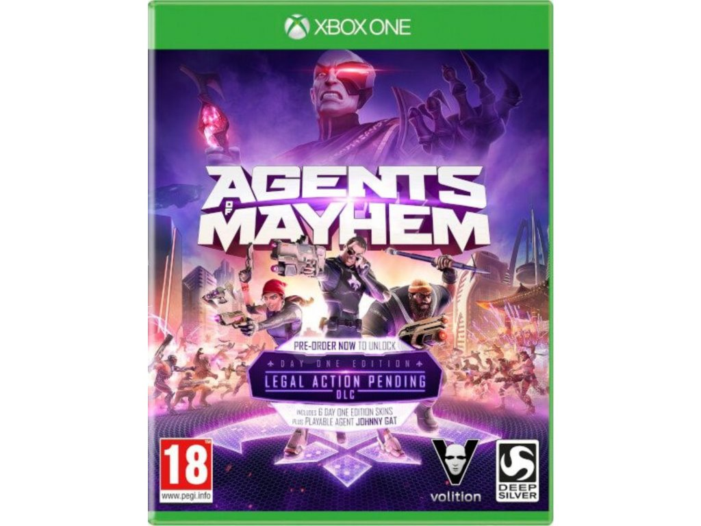 XBOX ONE Agents of Mayhem
