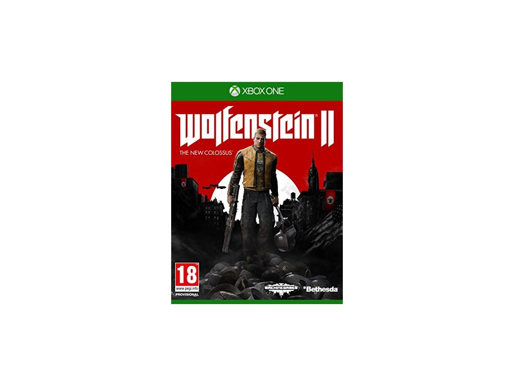 XBOX ONE Wolfenstein 2: The New Colossus (nová)