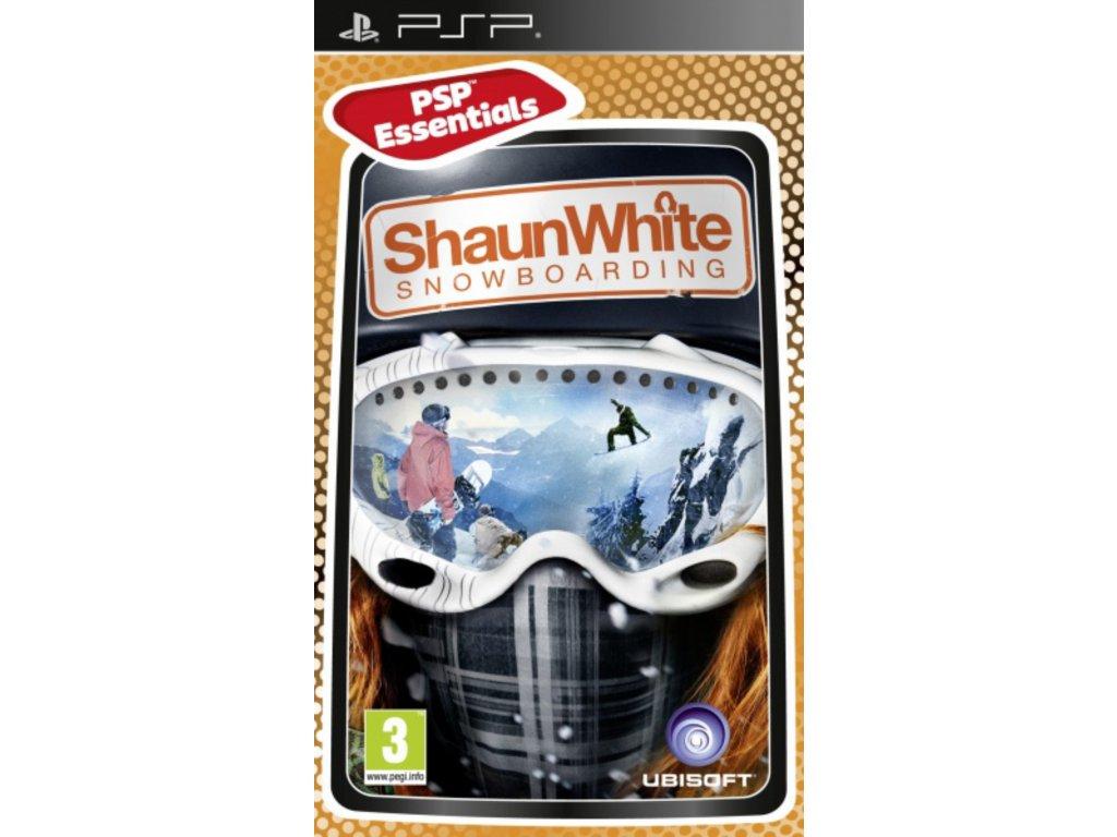 PSP Shaun White Snowboarding essentials