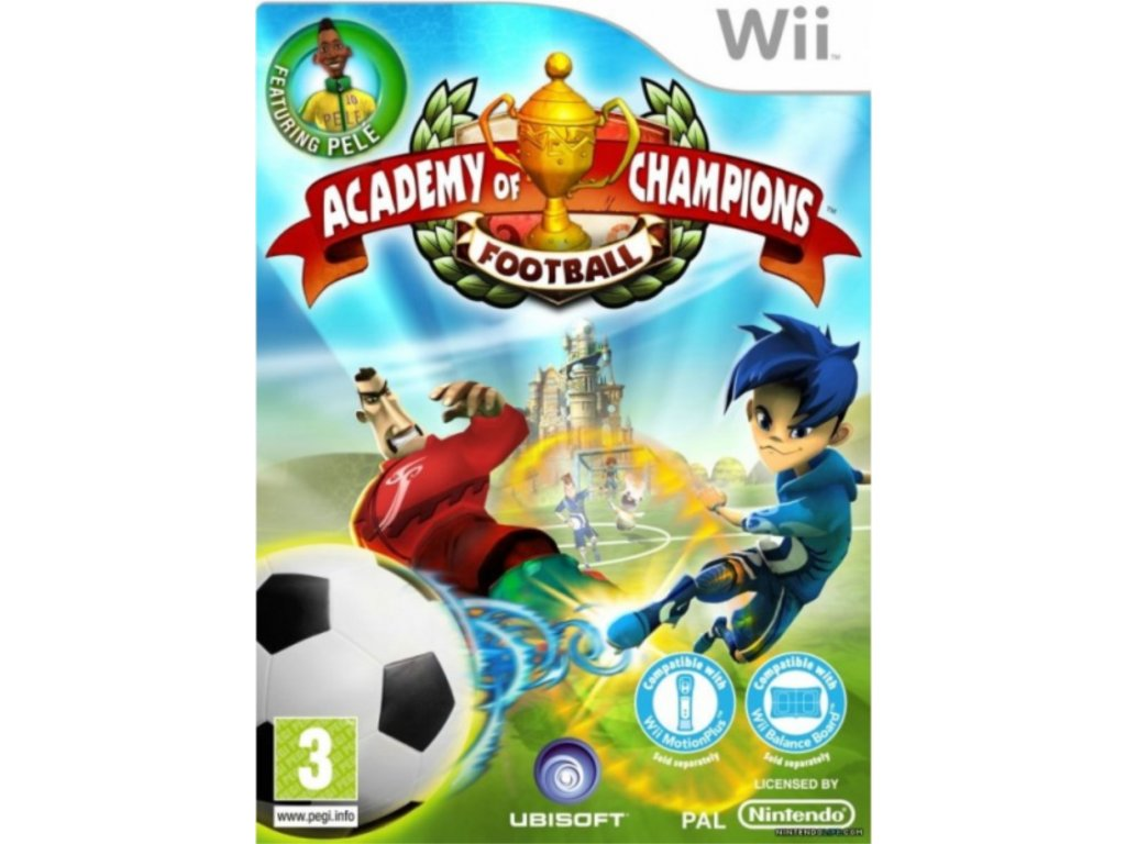 Wii Academy of Champions Football
