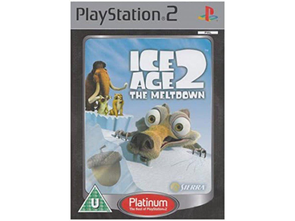 PS2 Ice Age 2 The Meltdown PLATINUM