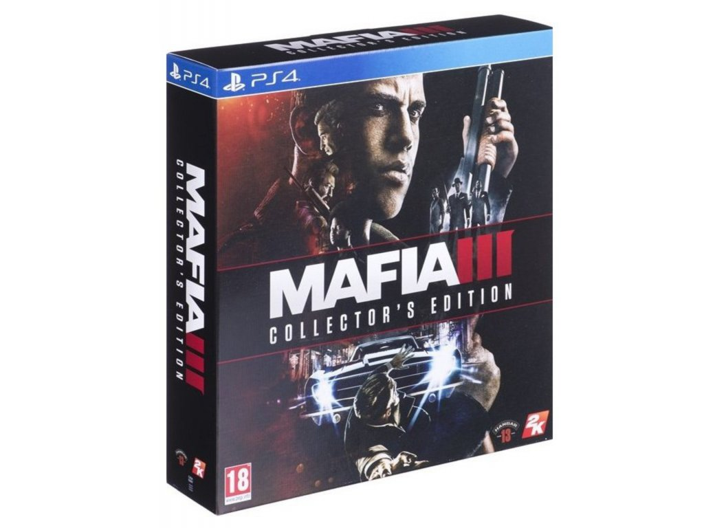 PS4 Mafia 3 (Collector's Edition) CZ