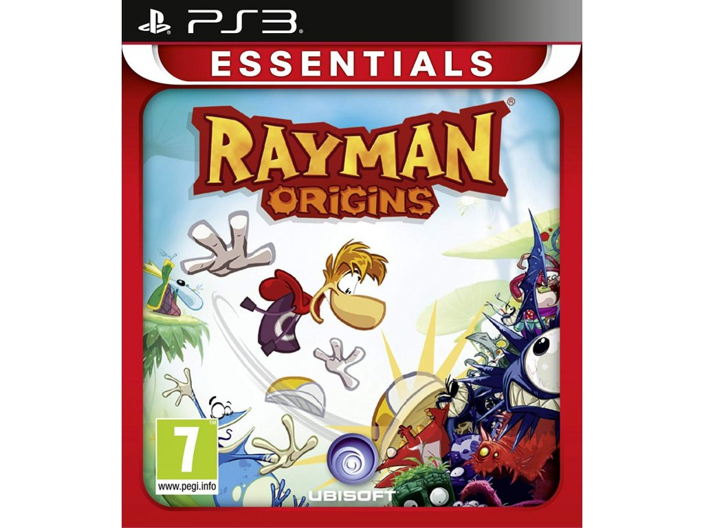 PS3 Rayman Origins essentials