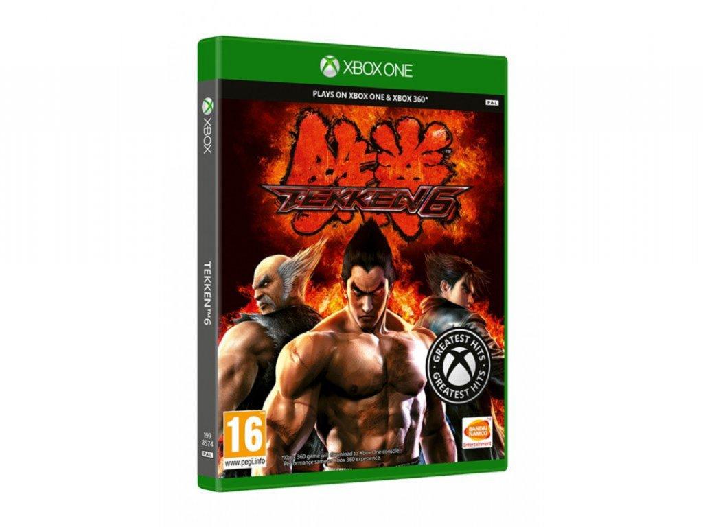 XBOX 360 XBOX ONE Tekken 6