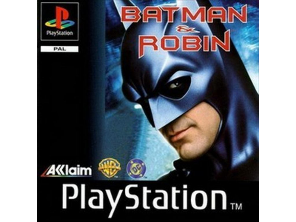 PS1 Batman & Robin