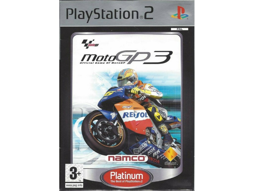 PS2 Moto GP 3 PLATINUM
