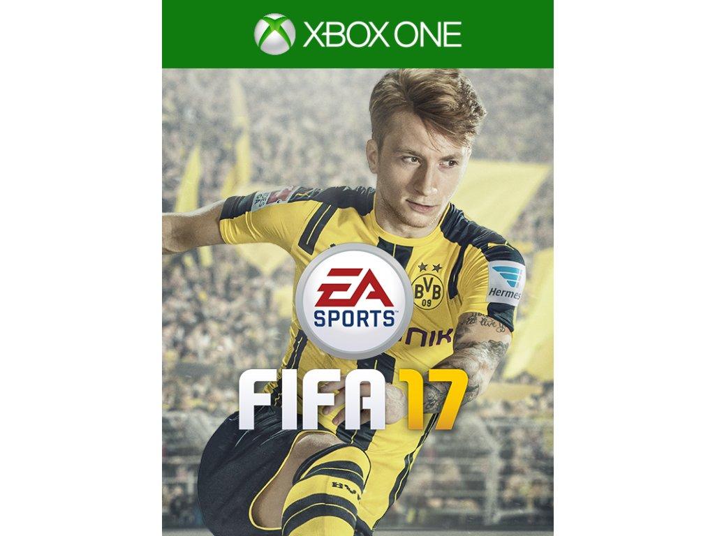 XBOX ONE FIFA 17 CZ