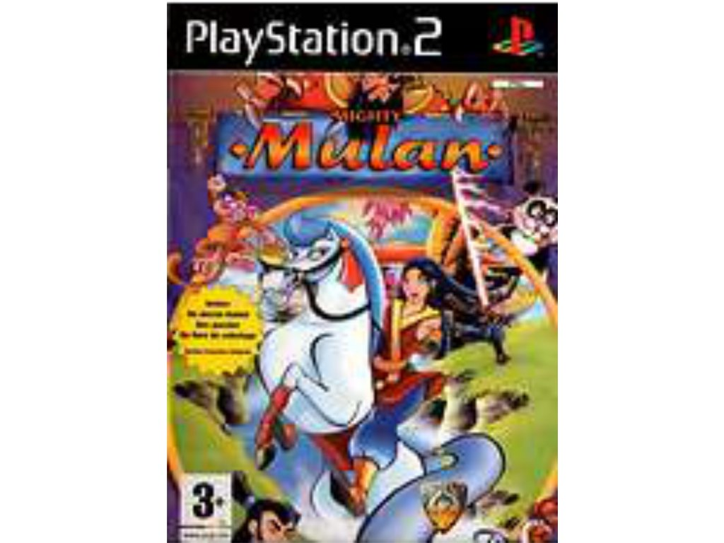 PS2 mighty mulan