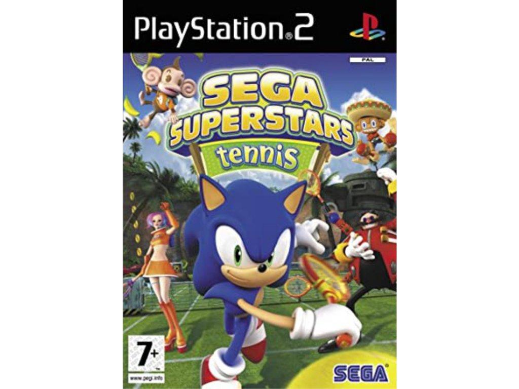 PS2 SEGA Superstars Tennis