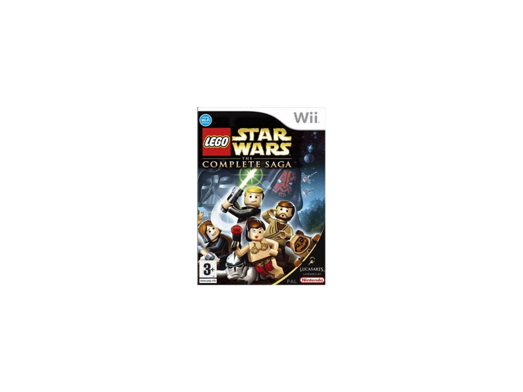 Wii LEGO Star Wars: The Complete Saga