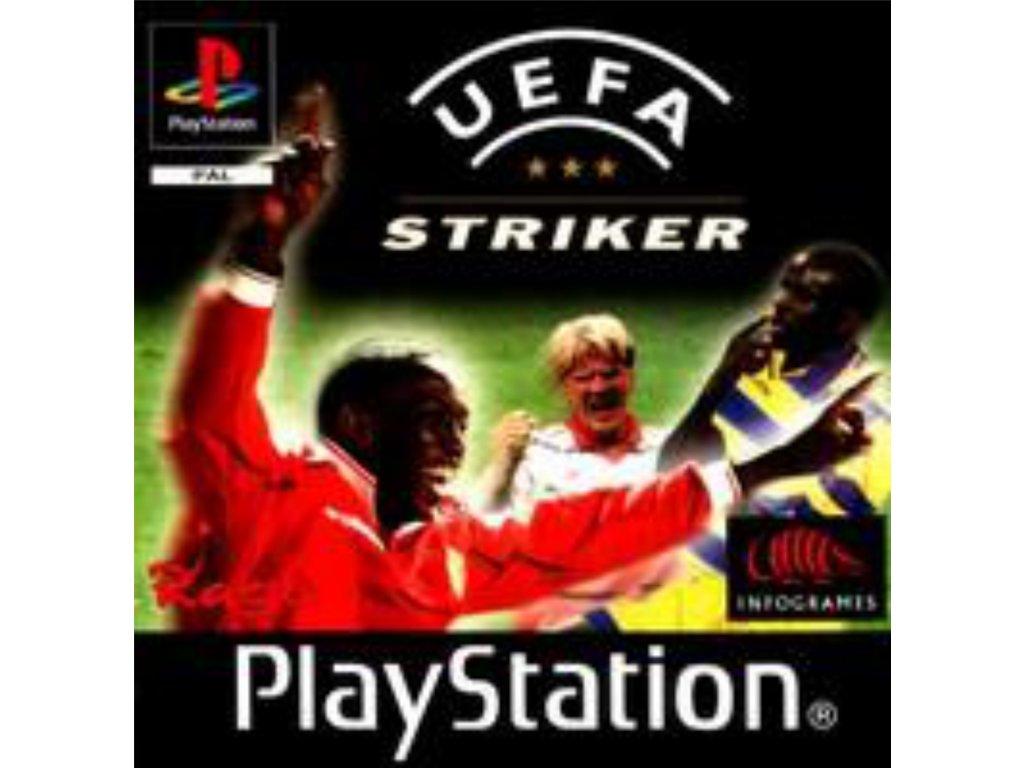 ps1 uefa striker