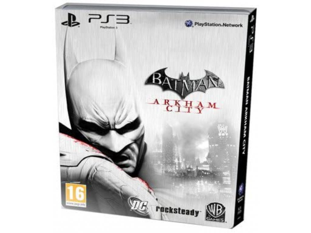 PS3 Batman Arkham City penguin Steelbook Edition