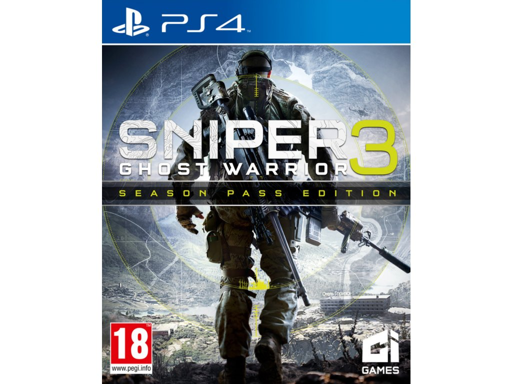 PS4 PS4 SNIPER GHOST WARRIOR 3 SEASON PASS EDITION
