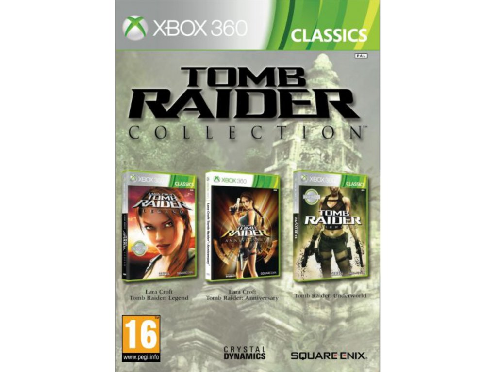 X360 TOMB RAIDER COLLECTION