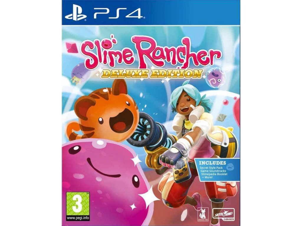 PS4 Slime Rancher Deluxe Edition