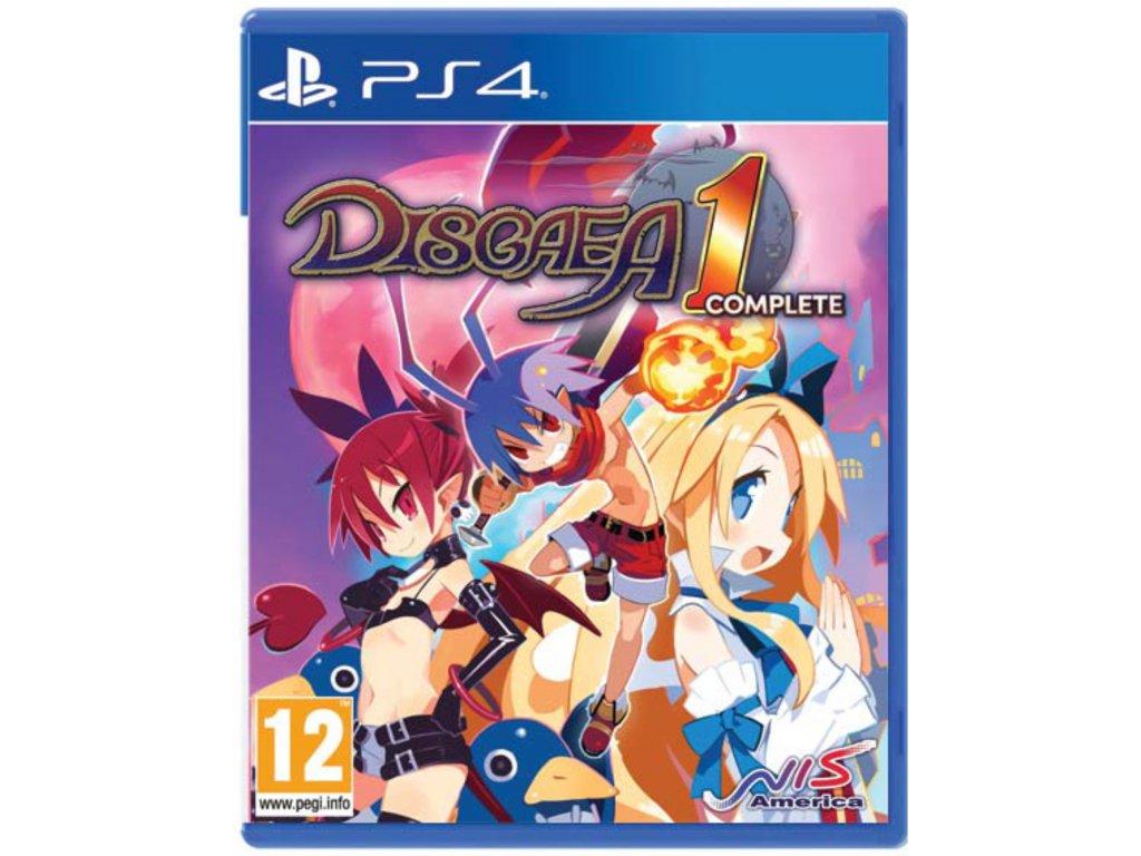 PS4 Disgaea 1 complete