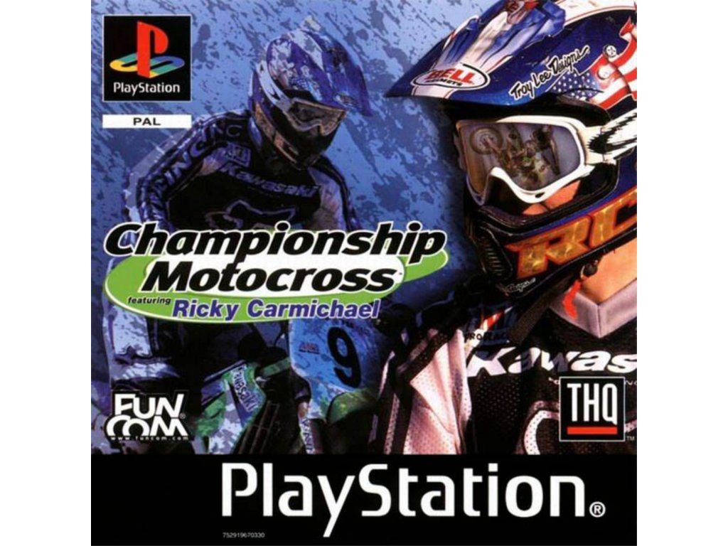PS1 Championship Motocross Featuring Ricky Carmichael