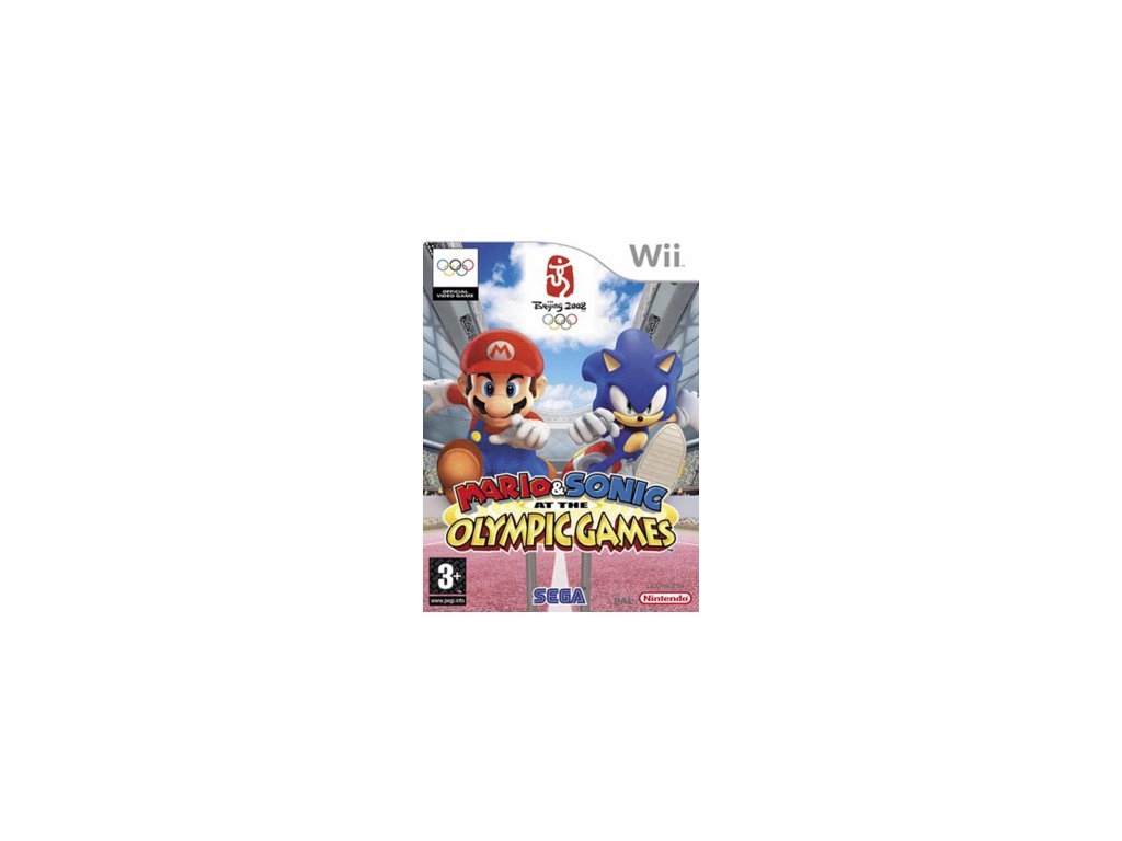 Wii Mario and Sonic at the Olympic Games