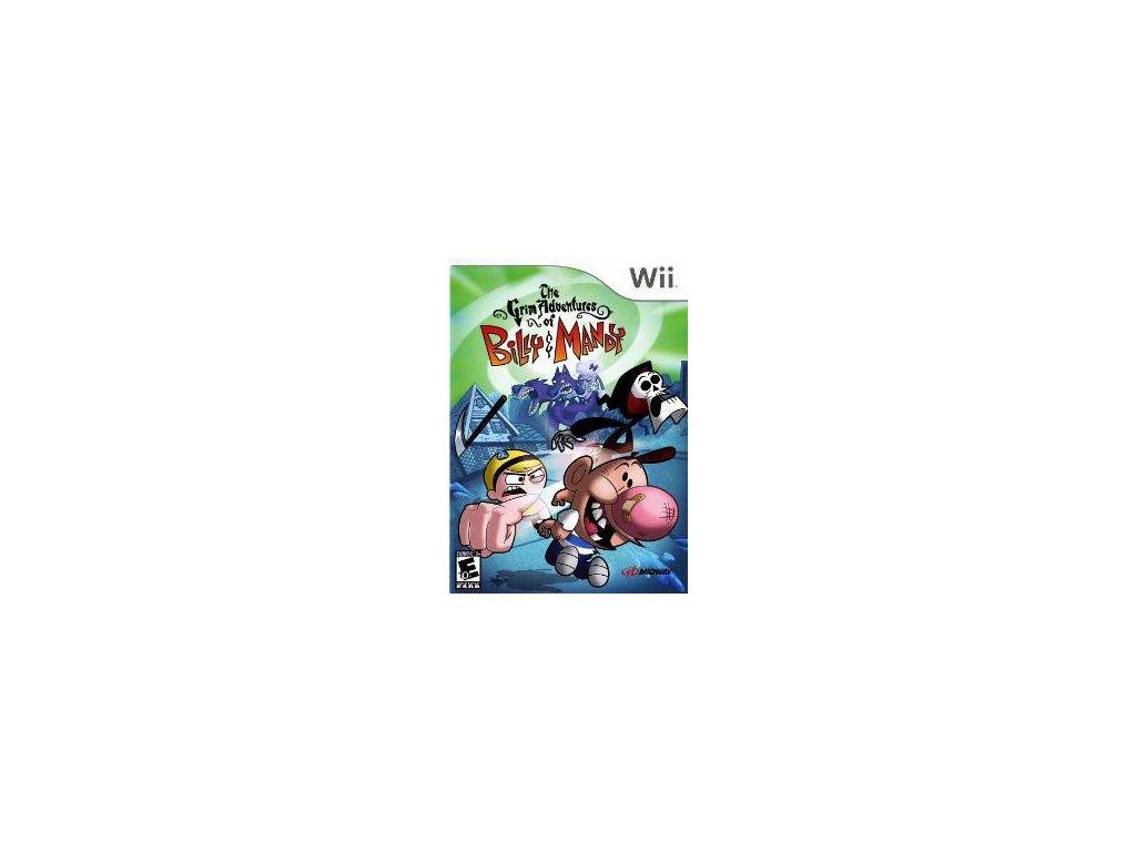 Wii The Grim Adventures