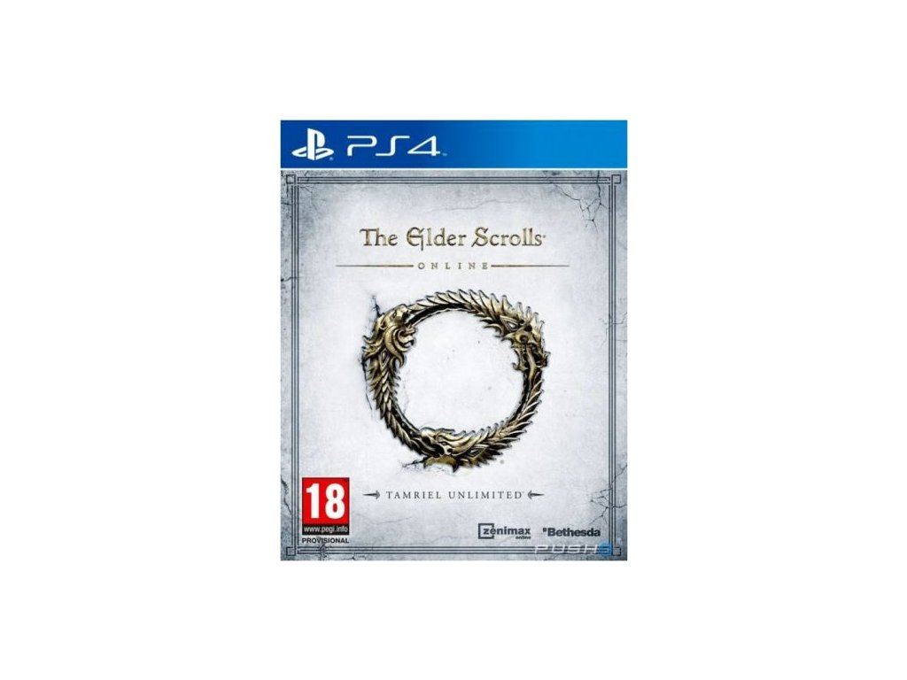 PS4 The Elder Scrolls Online Tamriel Unlimited Crown Edition