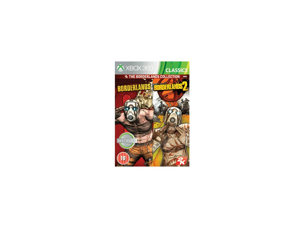 XBOX 360 Borderlands collection