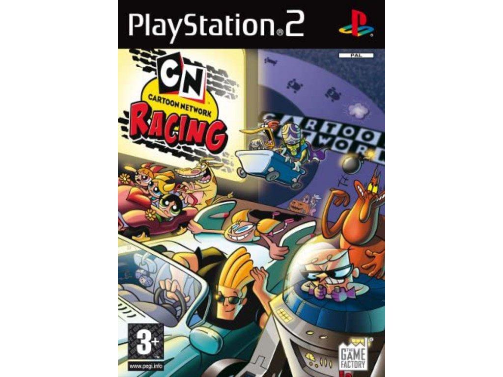 PS2 Cartoon Network Racing