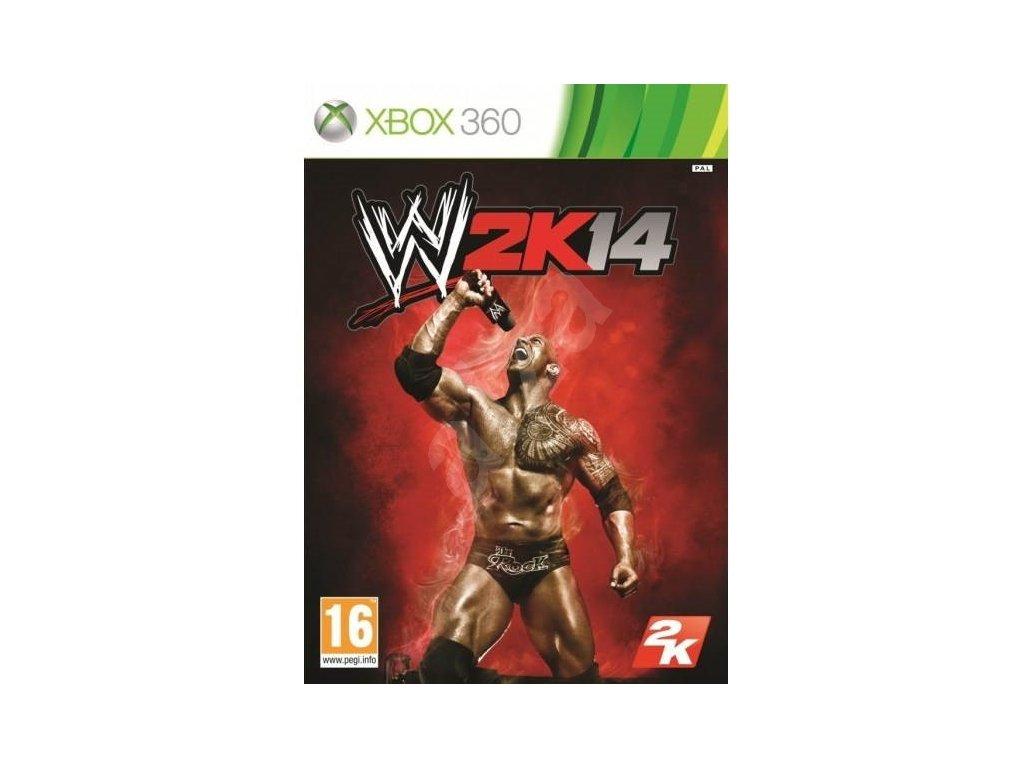 XBOX 360 WWE 2k14