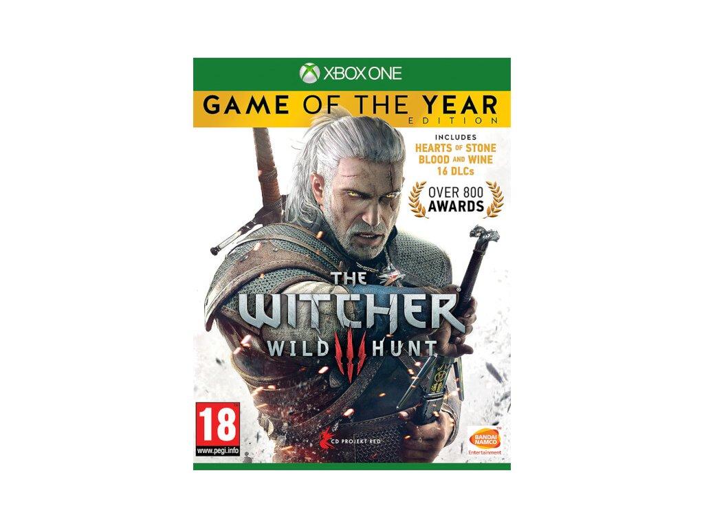 XBOX ONE The Witcher 3: Wild Hunt GOTY EDITION CZ (nová)