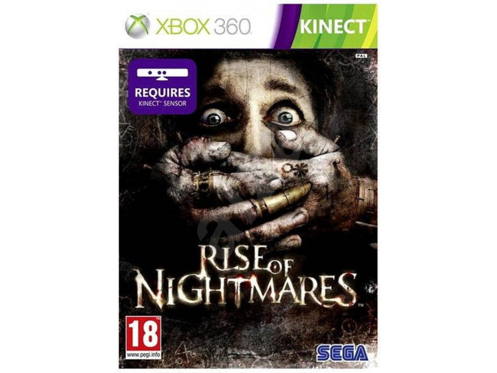 XBOX 360 Rise of Nightmares