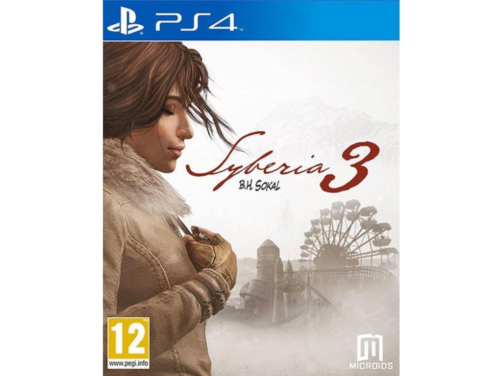 PS4 Syberia 3 CZ